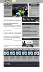 Fictional News Website by BogdanPantea