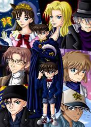Detective Conan by CelestialRayna