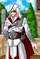 Ezio Auditore da Firenze by CelestialRayna