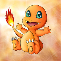 Little Charmander by CelestialRayna