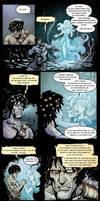 Planescape Torment comics scene by Le-Mat