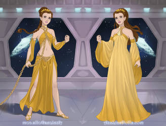 Star Wars Belle by Angelicmoonfantasy