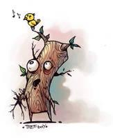 treeboy by pumpkinbear