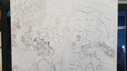Fortnite Drawing by toure7