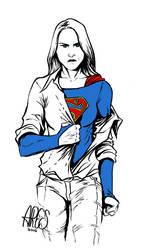 Supergirl  by Paterdixit