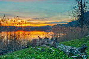 Lago di Annone by EltonTurkey