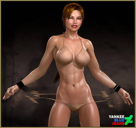 Lara Croft: No Strings by YankeeBlueJeans