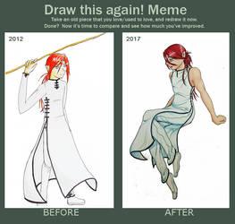 Draw This Again Meme - Khaol by SamalaKatal