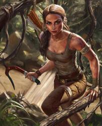 Lara Croft by NikitaNV