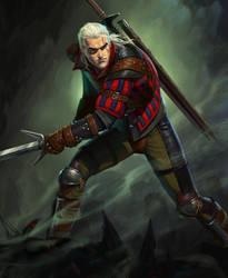 Geralt by NikitaNV
