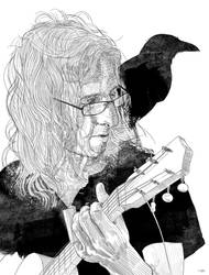 ragged musician by xabiersagasta