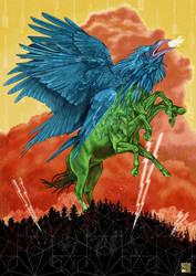 Storm God by xabiersagasta