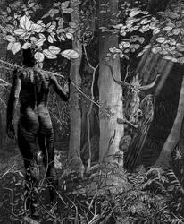 in the woods, lost... by xabiersagasta
