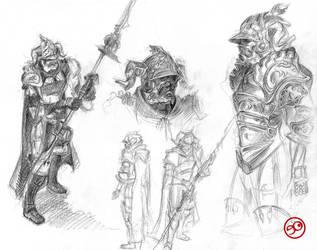 Judge Magister Gabranth by Euyevair