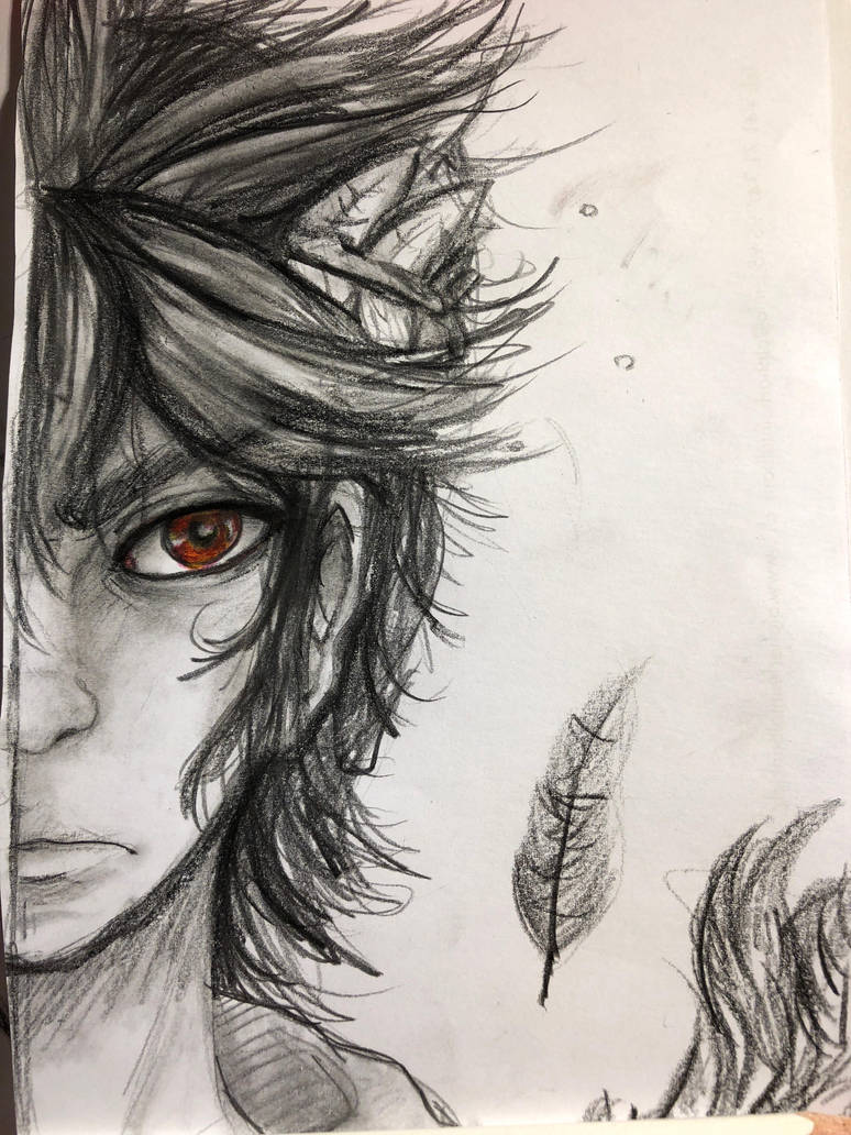 Dark Pit Realistic Drawing By Dark Tiff On Deviantart
