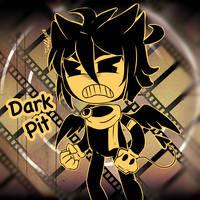 Dark Pit and the Ink machine by Dark-Tiff