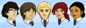 Minor Ravenclaws by rei-chan