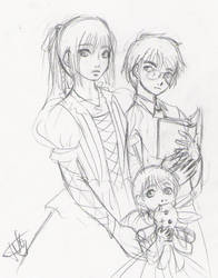 The Baudelaire Children by rei-chan