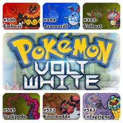 PokemonVoltWhiteVersion.ChampionTeam by Riftinge
