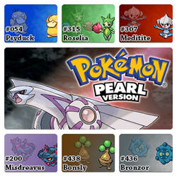 PokemonPearlVersion.SinnohChampionTeam by Riftinge