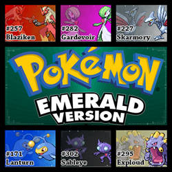 PokemonEmeraldVersion.HoennChampionshipTeam by Riftinge