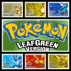 PokemonLeafGreenVersion.ChampionTeam by Riftinge