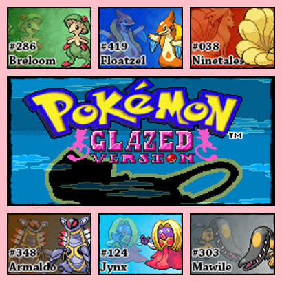 PokemonGlazed.ChampionTeam by Riftinge