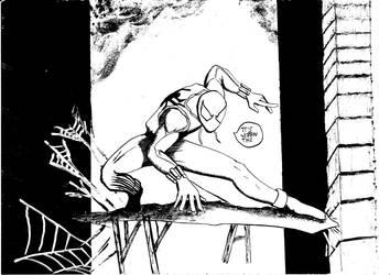 Spider-Cop by NRZ-Cane