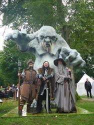 EFF 2013 - Thorin, Nori and Gandalf by Nathlas