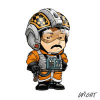 X is for X-Wing Pilot by joewight