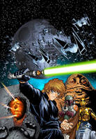 Return of the Jedi Manga 1 by joewight