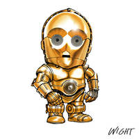 T is for Threepio by joewight