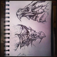 Dragonses by wtfevenisthis