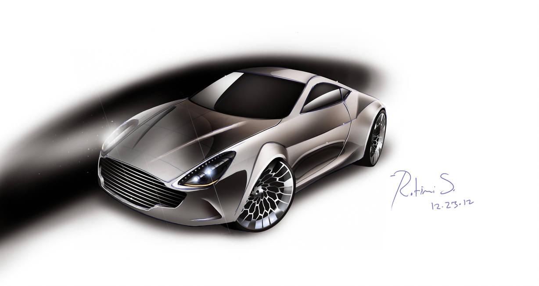 Aston Martin Concept Sketch Render By Slmdesign On Deviantart