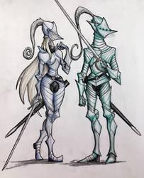Elf Knights 1 by HerbyFox