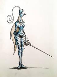 Elf Knight 2 by HerbyFox