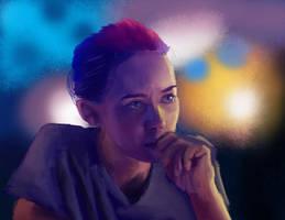 Sicario- Kate Mercer by thirteen-pixels