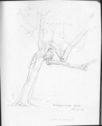 Jabberwock-tree by Pika-la-Cynique