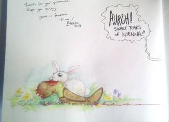 album personalization art - Bunny by Pika-la-Cynique