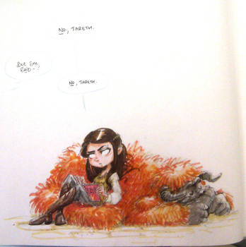 album personalization art - GQ Sarah by Pika-la-Cynique