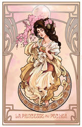 La Princesse au Pecher by Pika-la-Cynique