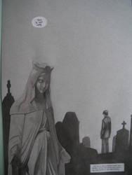 The Fool--Vampire Tarot p2 by Pika-la-Cynique