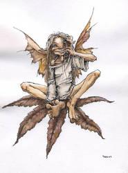 Marie's fairy by Pika-la-Cynique