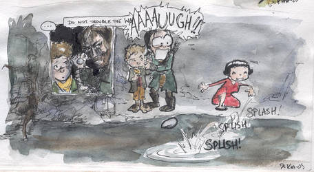 Amelie in Middle-earth3 by Pika-la-Cynique