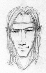 Finrod Felagund doodle by Pika-la-Cynique