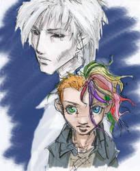 Del and Daniel by Pika-la-Cynique