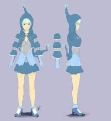 Aqua Sorceress by pasco295