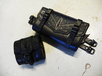 drow beltpouches by Sharpener