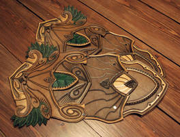 Elven Thighplates Comm by Sharpener