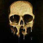 Acryllic candle-skull by Sharpener